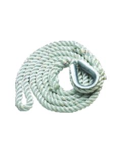 New England Ropes Mooring Pendant, 3/Strand Mooring Lines