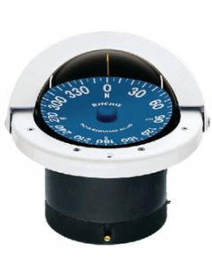 Ritchie Supersport Compass,  Flush Mount,  4 1/2 Dial,  White