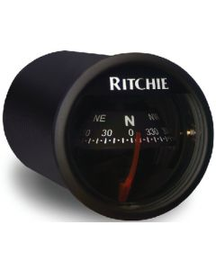 Ritchie Sport Dash Mount Compass, Black/Black