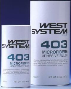West System 20 Lbs Microfibers Filler