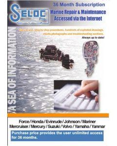 Seloc Boat Motor Repair Manual Online 3 Year Subscription