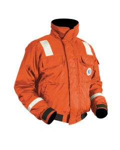 Mustang Survival Mustang Classic Bomber Jacket With Solas Reflective Tape: XL
