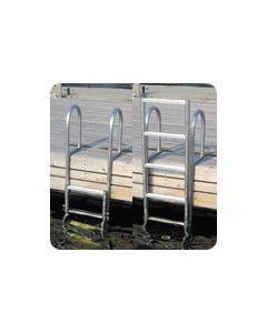 Dock Edge Dock Extension Ladder 5 Step, Slide Up
