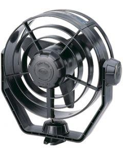 Hella Turbo Fan, 2-Speed, 12v, Black Housing