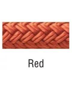 "Seachoice Double Braided Nylon Fender Line, Red, 1/4"" X 6' Fender Lines"