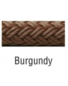 "Seachoice Double Braided Nylon Fender Line, Burgundy, 1/4"" X 6' Fender Lines"