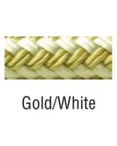 """Seachoice Nylon Anchor Line, Gold/White, 3/8"""" X 100' Braided Anchor Line"""
