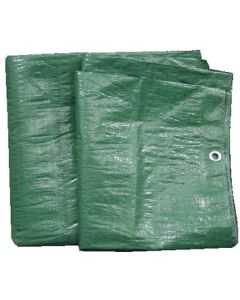 Seachoice TARP GREEN POLY 10' X 12'