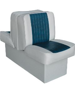 "Wise Deluxe 10"" Back-to-Back Seat - White"