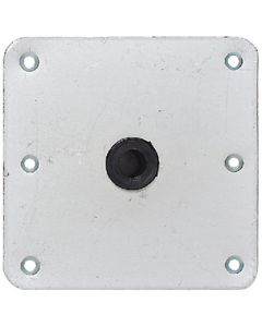 Attwood Baseplate Threaded Zinc Plated - Swivl-Eze