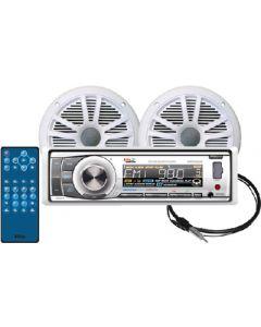 Boss Audio MARINE BLUETOOTH PKG CD RCV+SP
