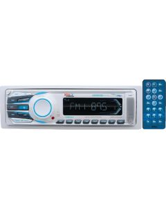 Boss Audio Marine MP3/AM/FM Receiver with Bluetooth,  White - Boss