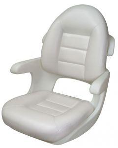 Tempress Elite High Back Boat Helm Seat, White