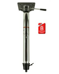 Springfield Taper-Lock Power-Rise Stand Up and Mount 22-1/2 to 29-1/2 Adjustable Height 2-3/8 Pedestal