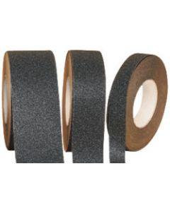 "Incom 4"" X 60' Black Anti-Slip Safety Grit Tape, Bulk"