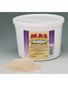 MAS Epoxies Wood Flour Filler, Quart - Mas Epoxies