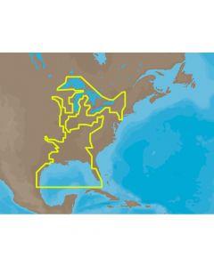 C-Map MAX U.S. Gulf Coast & Inland Rivers C-Card Electronic Charts