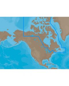 C-Map MAX Canada North & East C-Card Electronic Charts