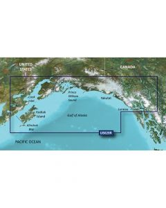 Garmin VUS025R Anchorage to Juneau SD Card Nautical Charts