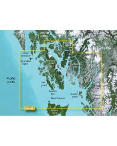 Garmin VUS024R Wrangell to Dixon Entrance SD Card Nautical Charts