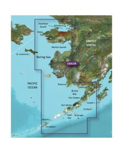Garmin VUS033R Bristol Bay Kotzebue Snd. SD Card Nautical Charts