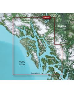 Garmin VUS026R Wrangell / Juneau / Sitka SD Card Nautical Charts