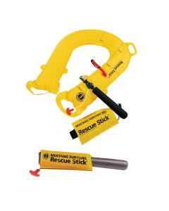 Mustang Survival Mustang Rescue Stick - Throwable Emergency Rescue Inflatable