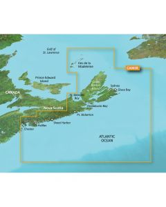 Garmin VCA005R Halifax to Cape Breton SD Card Nautical Charts