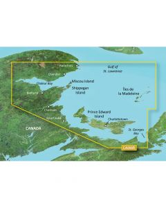 Garmin VCA006R P.E.I. to ChalEUr Bay SD Card Nautical Charts