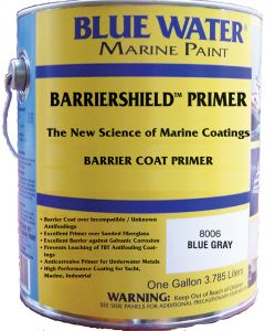 Blue Water Marine Paint Barriershield Primer, Gallon