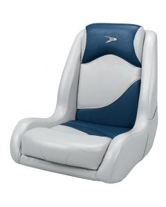 Wise Bucket Seat Contemporary Series Recargo Style, Gray-Blue