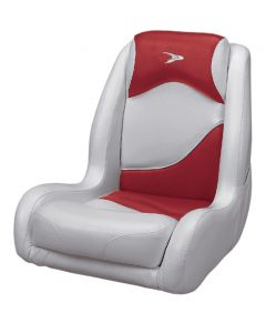 Wise Bucket Seat Contemporary Series Recargo Style, Gray-Red