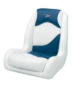 Wise Bucket Seat Contemporary Series Recargo Style, Blue-White