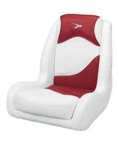 Wise Bucket Seat Contemporary Series Recargo Style, Red-White