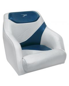 Wise Traditional Style Bucket Seat Contemporary Series, Gray-Blue