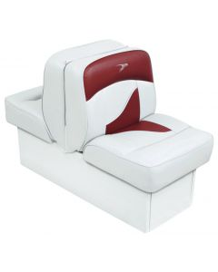 Wise Back-to-Back Lounge Seat Contemporary Series - White-Red