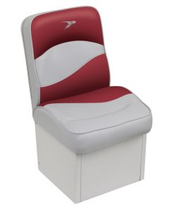 Wise Jump Seat Contemporary Series, Gray-Red