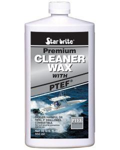 Starbrite Premium Boat Cleaner Wax with PTEF, 32 Oz. - Star Brite