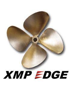 "OJ Propellers XMP Edge 4-Blade 14.25 x 14 RC 1-1/8"" Bore .090 Cup"