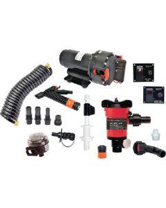 Johnson Pump Aqua Jet WD/Livewell Kit, 12V