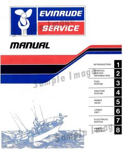 Ken Cook Co. 1955 Evinrude Outboard Service Manual BU_7518_55