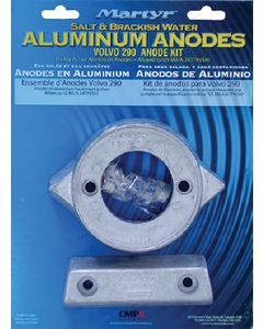 Martyr Anodes VOLVO 290 ANODE SET ALUMINUM