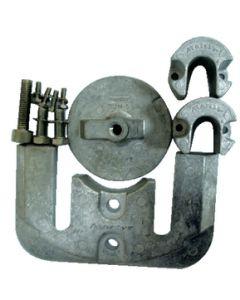 Martyr Anodes Mercury/Mercruiser Anode Kit, Aluminum, Bravo 2 & 3