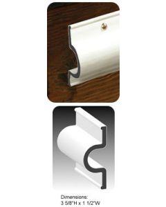 Taylor Made Dock Pro 25' Heavy Duty Vinyl Double Molded C-Shape Gard Dock Edging Dock Side Bumpers