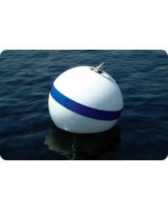 "Taylor Made Sur-Moor T3c Mooring Buoy, 15""Dia, 60Lbs Buoyancy (Hardware Not Included)"