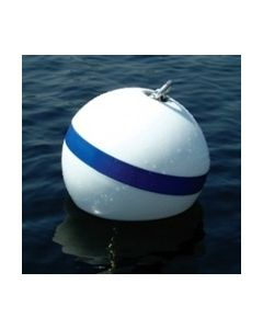 "Taylor Made Sur-Moor T3c Mooring Buoy, 12""Dia, 30Lbs Buoyancy (Hardware Not Included)"