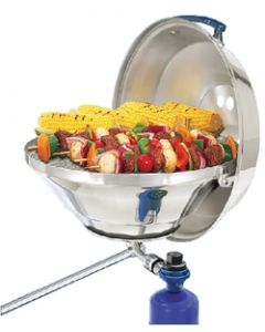 Magma Marine Kettle Gas Grill Party Size 17 w/ Hinged Lid