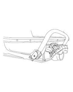 Aqua Performance Polaris SL900, SL1050, Polished PWC Step