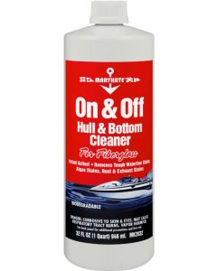 CRC Fiberglass Hull & Bottom Cleaner, 32 oz.