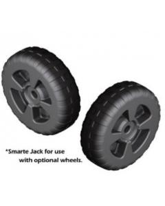Quality Mark Heavy Duty Plastic Wheels, 1 Pair (Wheels Only)
